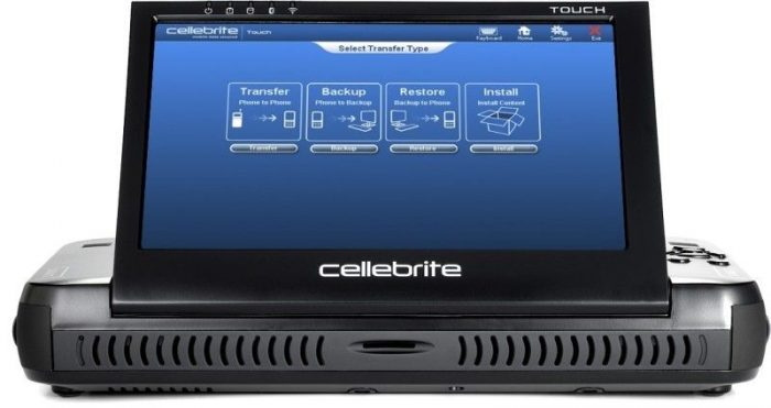 Cellebrite Ufed Touch Ultimate donanımı