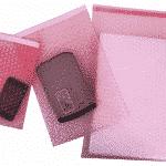 Antistatik maddeden ve baloncuklu üretilmiş delil zarfları