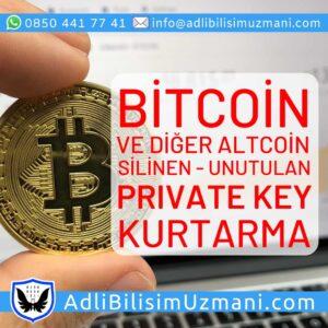 Bitcoin Şifrem Silindi