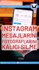 Instagram Kalıcı Silme iPhone