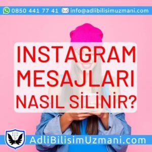 Instagram mesajları nasıl silinir?