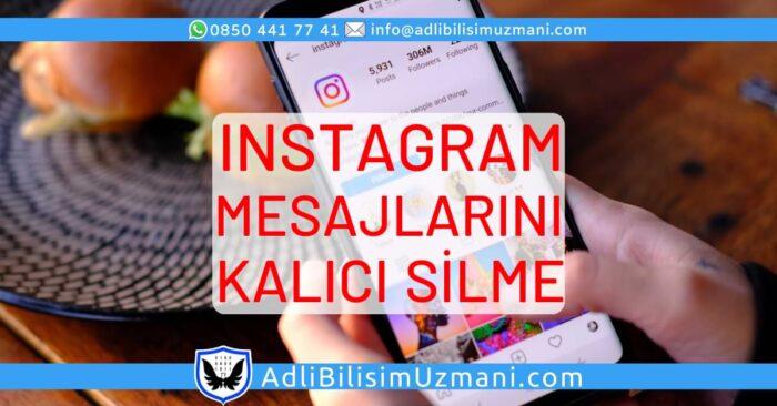 Instagram Mesajlarını Kalıcı Olarak Silme