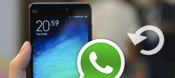 WhatsApp Mesajlarını Geri Getirme